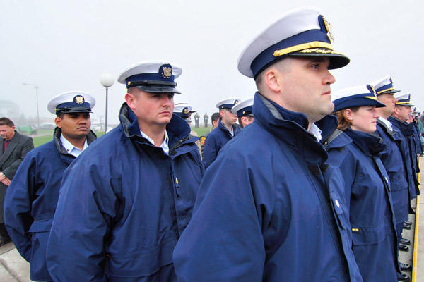 Life in the coast guard enlisted