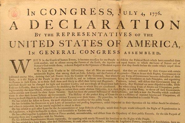 Image result for images declaration of independence