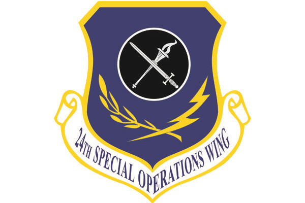 24th Special Operations Wing shield