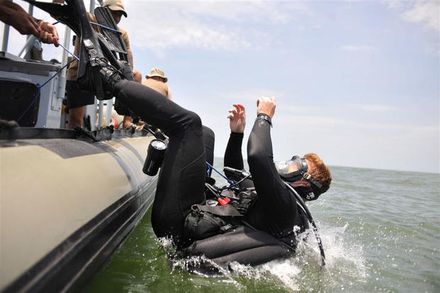 Navy EOD - Diver Training | Military com