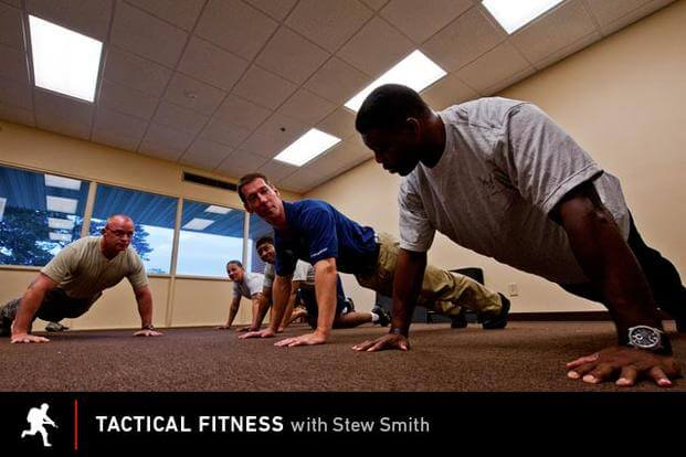 Tactical Fitness: Group Push-Ups