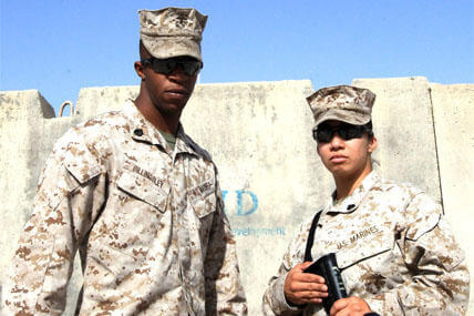 marine sergeant and wife deployed 428x285