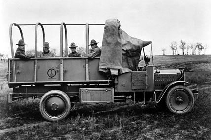 GMC World War I military truck