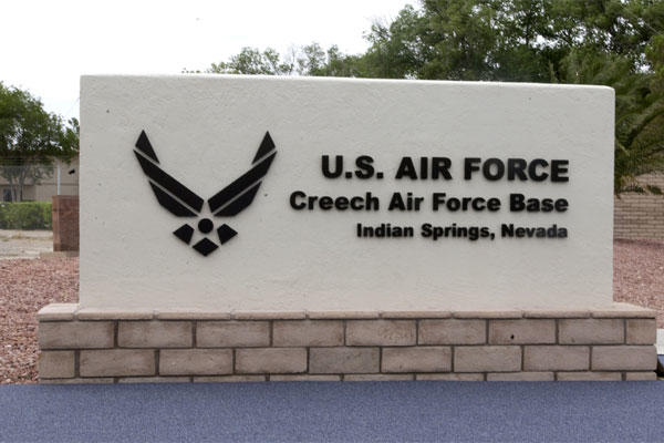Creech Air Force Base. (Photo: Air Force)