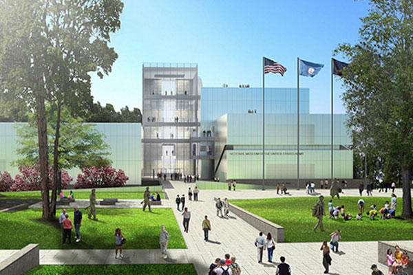 A rendering of the new joint AHF-AUSA National Army Museum (AUSA photo)