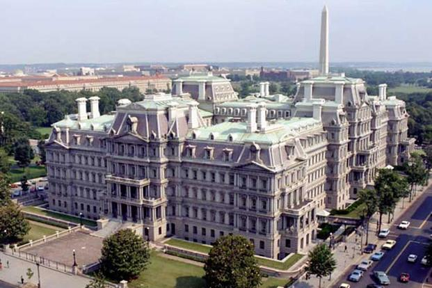 The Eisenhower Executive Office Building. Photo courtesy of Whitehouse.gov