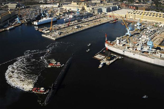 navy to hire thousands of shipyard workers as freeze ends