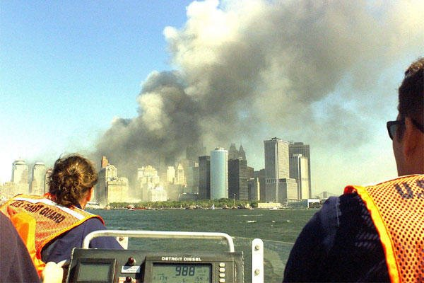The 9/11 attack on New York's World Trade Center