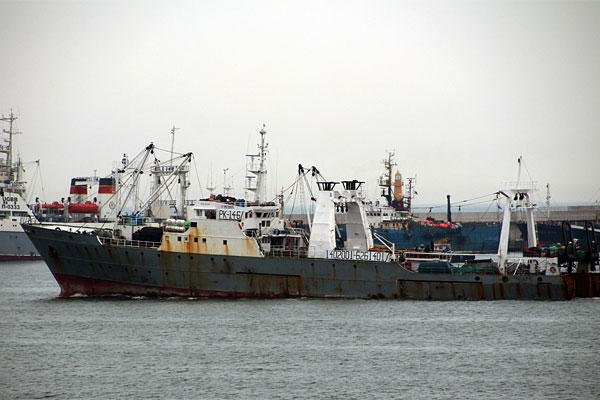 In this undated file photo, South Korean fishing boat Oryong 501 is seen in a port. (AP Photto/Yonhap, File)