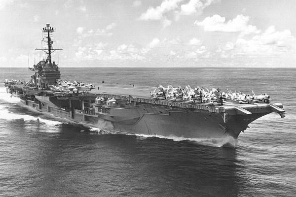 Navy Pays One Cent to Scrap Historic USS Ranger | Military com