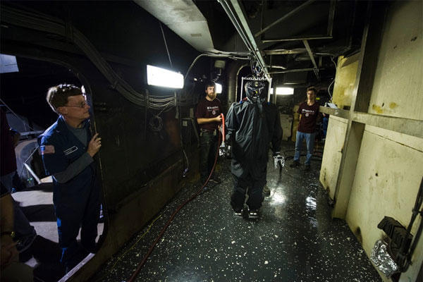 navy debuts robot that can fight fires aboard ships