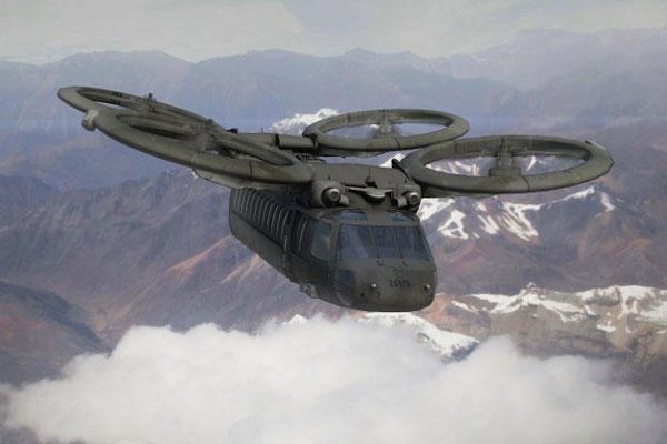 An artist's conception of future Army rotorcraft. (U.S. Army photo)