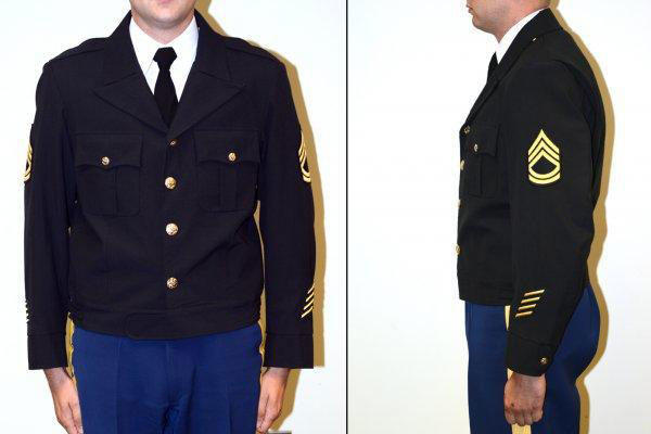 "--The ""Eisenhower jacket"" has been proposed for the Army Service Uniform as a more appropriate indoor alternative to the black windbreaker jacket."