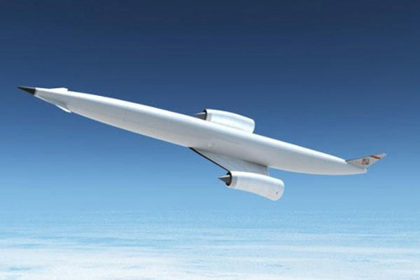 A conceptual image of an aircraft powered by the new SABRE engine. (Image courtesy BAE Systems)