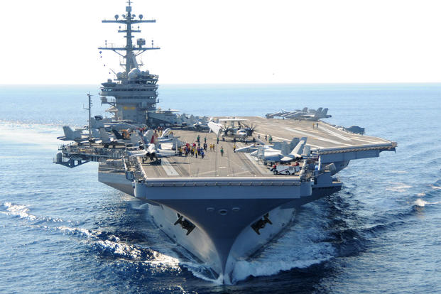 USS George H. W. Bush (U.S. Navy photo)