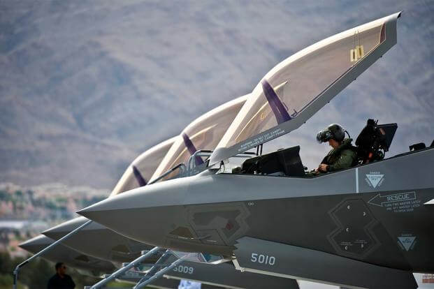 F-35A Hypoxia Problems Date Back to 2011, Air Force Reveals