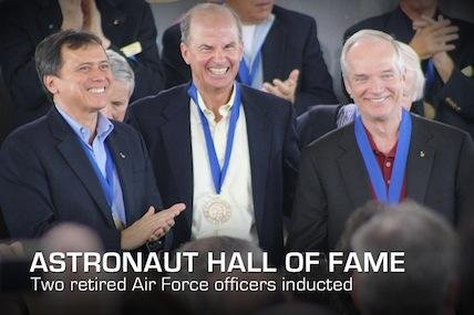 The latest inductees to the Astronaut Hall of Fame