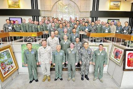 Military leaders from the U.S. and the Republic of Korea gathered at Osan Air Base, South Korea, June 13-14 to discuss airpower strategies in the Pacific region.