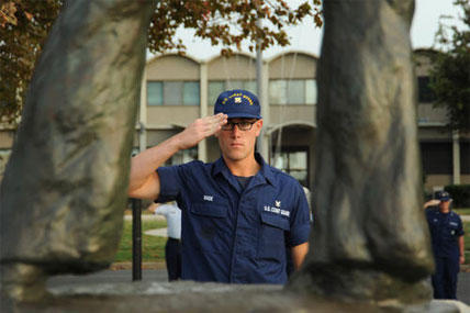 Coast Guardsmen Remember Medal of Honor Recipient | Military com