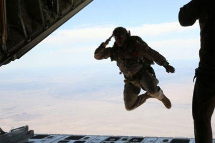 Marine Paratroopers Take to the Skies | Military com