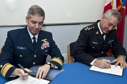 US, Canada Cooperate to Fight Cross-border Crime | Military com