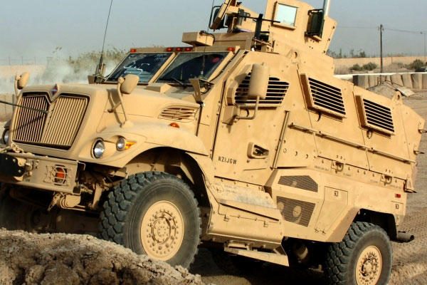 Airstrikes Hit MRAPs and Humvees Captured by ISIL   Military.com