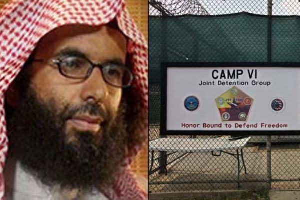 Shown at left is Ibrahim al-Rubaysh, an AQAP operative and former Guantanamo inmate. (Rewards for Justice/AP)