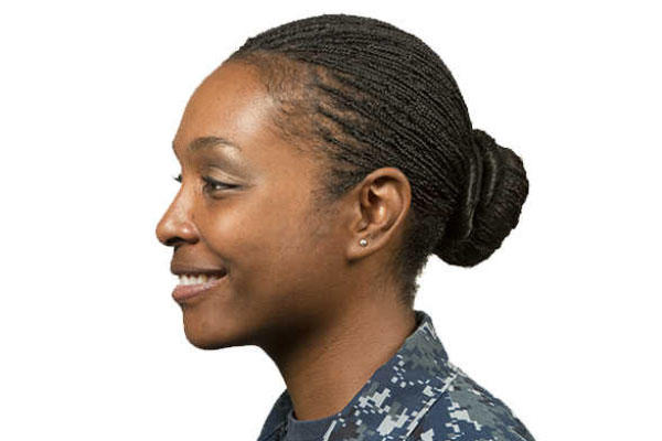 Navy hair (Navy Photo)