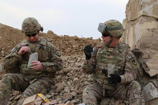 The Consumer Research Team at the Natick Soldier Research, Development and Engineering Center has posted an online questionnaire that will help determine the direction it will take with future operational rations.(U.S. Army photo)