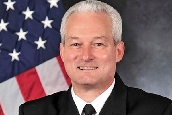 Rear Adm. David Baucom (US Navy Photo)