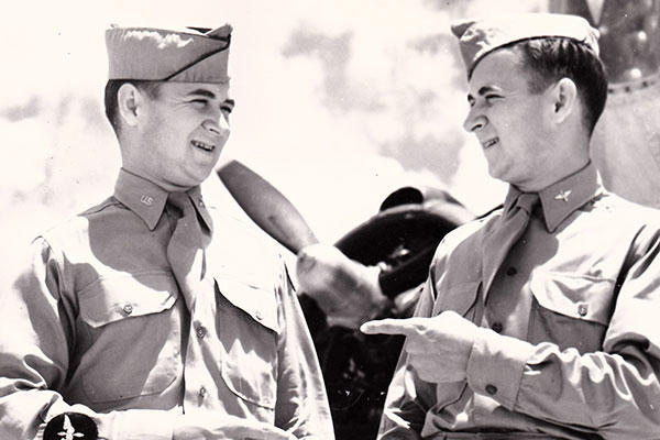 cfbb303d Air Force Twins Receive French Legion of Honor for WWII Service ...