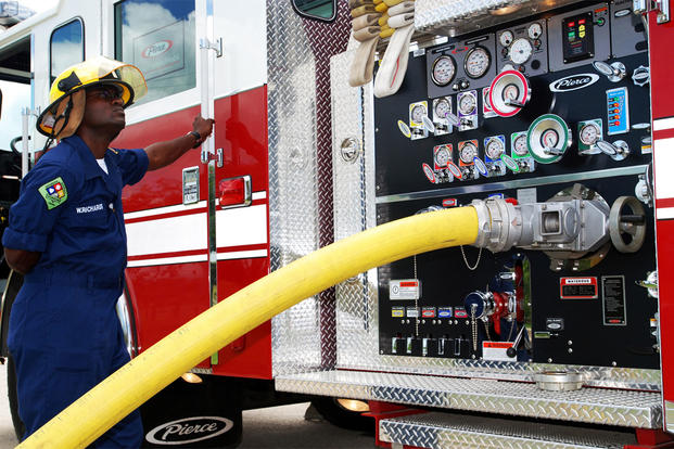 navy working to fill large number of firefighter  police