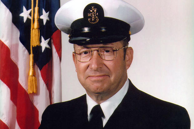 RMCM William H. Plackett, USN, sixth Master Chief Petty Officer of the Navy, October 4, 1985 to September 9, 1988. (Photo: U.S. Navy)