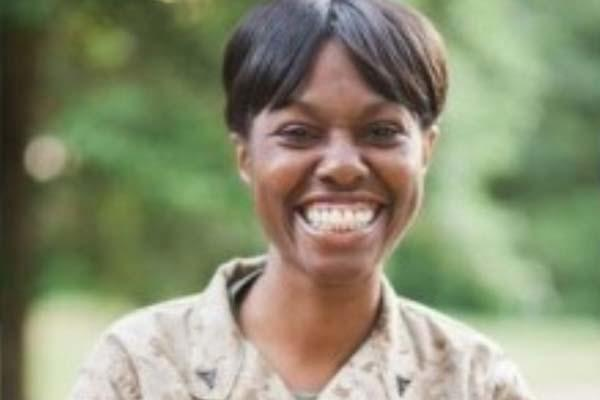 Former Lance Cpl. Monifa F. Sterling (Photo: The Becket Fund)