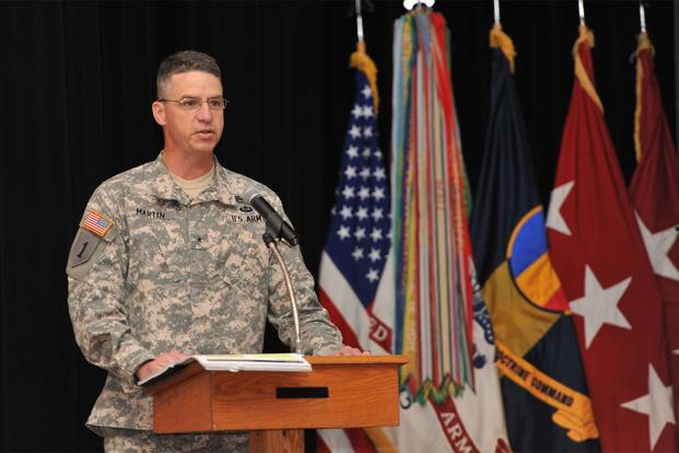 Army Names Replacement For 1st Infantry Division S Fired