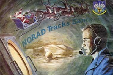 NORAD has been tracking Santa Claus and his reindeer since 1955.