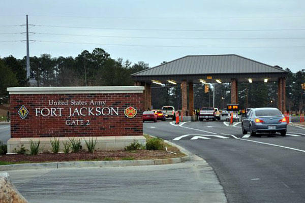 Fort Jackson. Army photo