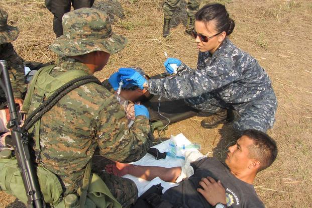 medic up  secnav hints at future corpsman job title