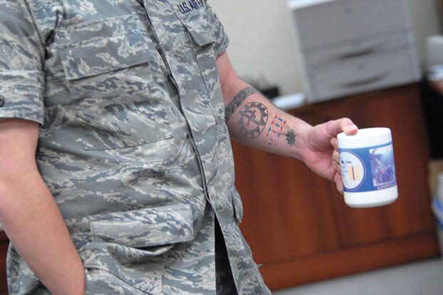 Air force security forces tattoos