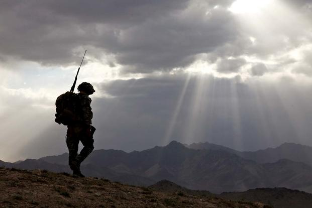 A soldier on patrol in Afghanistan (Photo Credit: U.S. Army)
