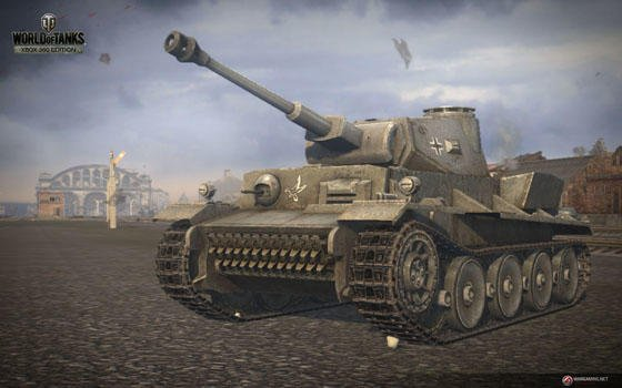 WoT Xbox screenshot German tank closeup