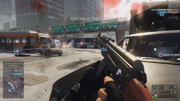Battlefield: Hardline screenshot.