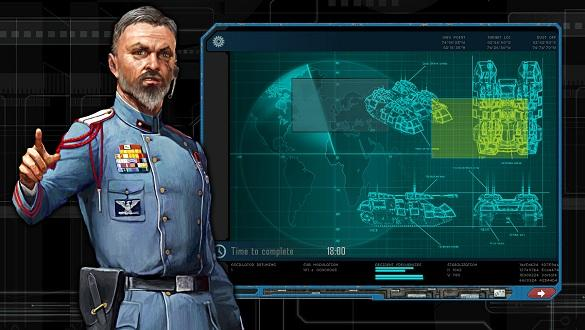 Machines at War 3 screenshot briefing