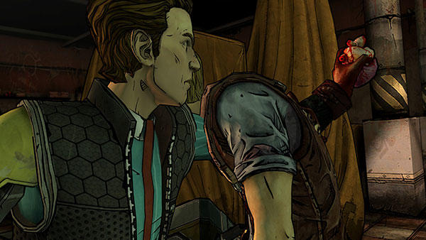 Tales from the Borderlands - Rhys pulling out heart