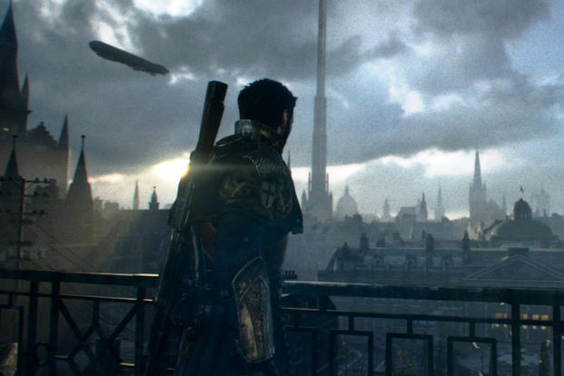 "This photo provided by Sony Computer Entertainment America LLC shows a scene from the video game, ""The Order: 1886"" (Sony, for PlayStation 4, $59.99), in which Sir Galahad defends an alternate version of Victorian London. (AP Photo/Sony Computer"
