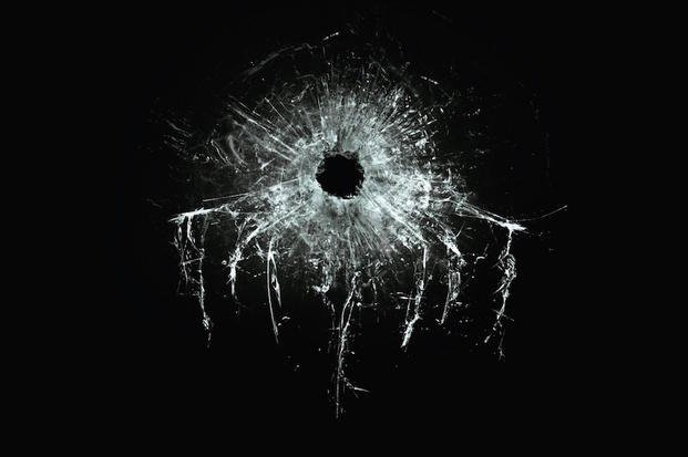 This images is from the first poster for 'SPECTRE,' the James Bond film due in 2015.