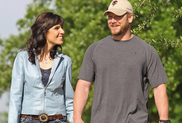 Taya & Chris Kyle