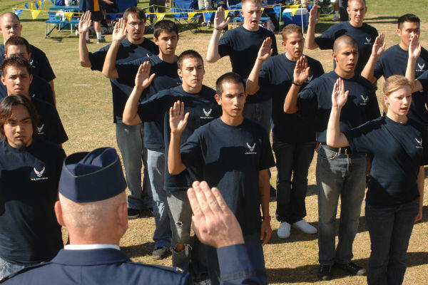 Air force people