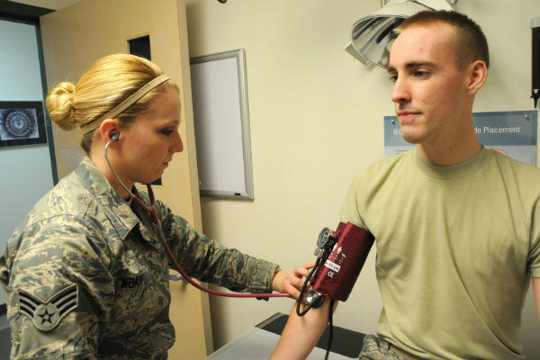 Airman medical examination