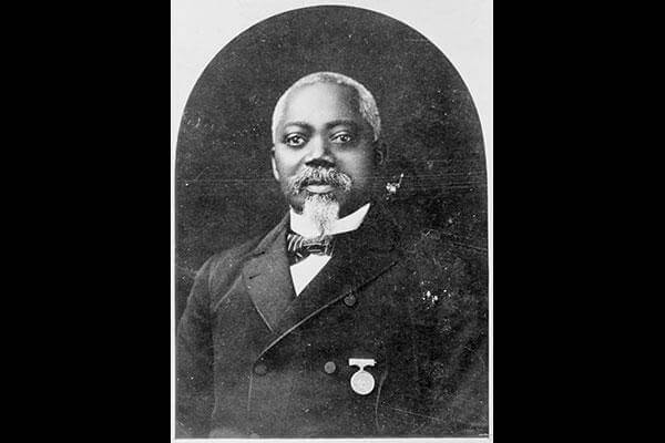Sgt. William H. Carney, ca. 1900. (Library of Congress)